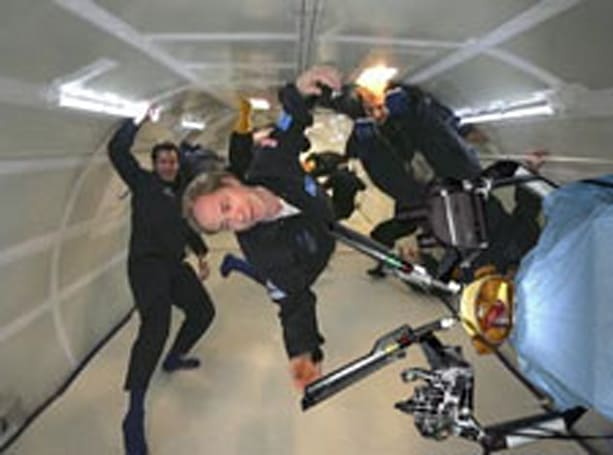 Robo-surgeon to perform zero-G surgery