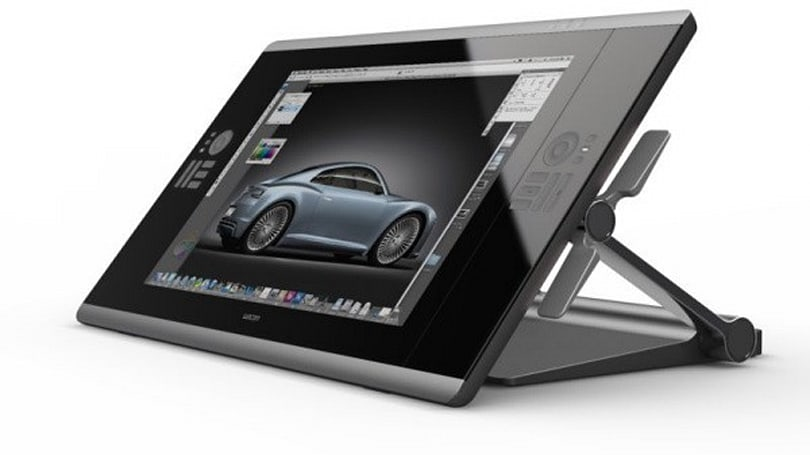 Wacom Cintiq 24HD images break cover, we start practicing our stick figures