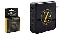 Charge your iPhone, or any two USB devices with ZAGGsparq