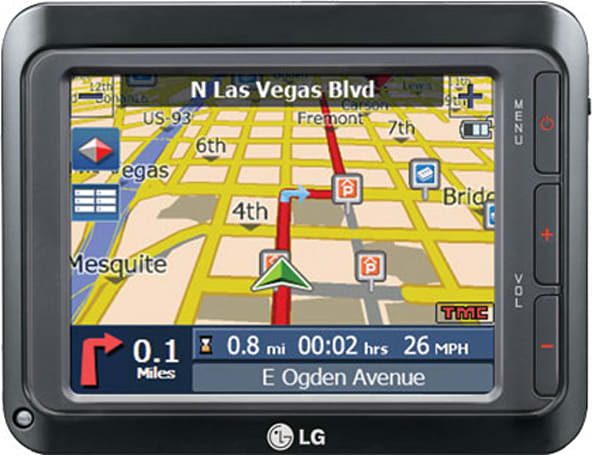 LG's LN740 GPS navigation unit gets reviewed