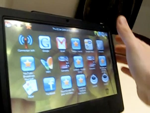 Video: iFrame tablet PC in action