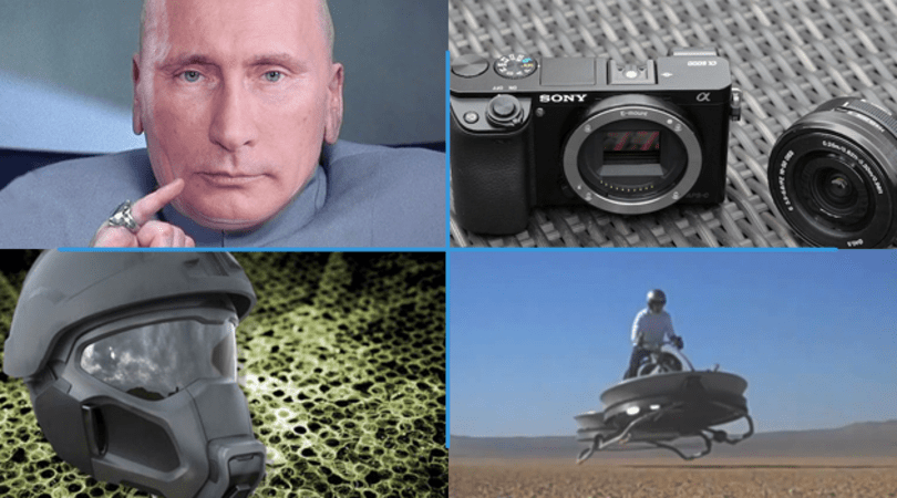 Engadget Daily: futuristic Army helmets, Sony Alpha 6000 review and more!