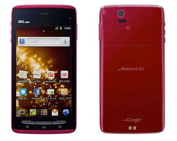 Fujitsu Arrows ES IS12F coming to Japan next year: thick name, thin phone