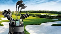 Mosoro Bluetooth LE iOS accessories improve your golf, if the weather's right