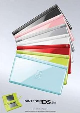 New DS Lite colors all but confirmed by Nintendo