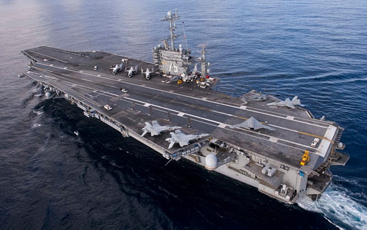 Navy sailor pleads guilty to hacking from an aircraft carrier