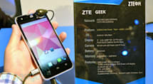 ZTE Geek unveiled with 2GHz Intel Clover Trail+ and a terrible name (video)