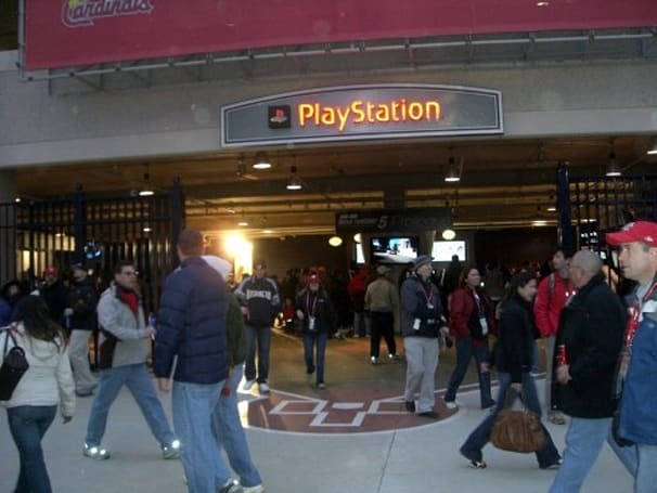 Check out the PlayStation Pavilion at the new Nationals Park
