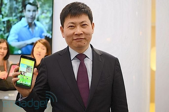 Live from the Engadget CES Stage: an interview with Huawei's Richard Yu (updated x2)