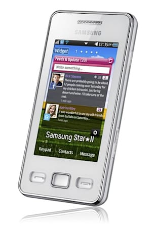 Samsung Star II: like the original, but with more social networking