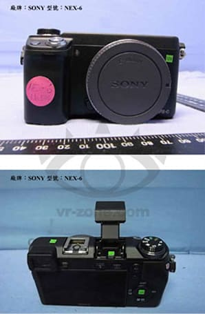 Sony NEX-5R and NEX-6 allegedly get pictured, flaunt WiFi logos (updated with leaked press shots)