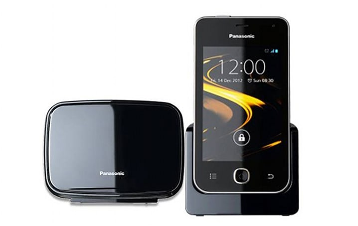 Panasonic KX-PRX120 offers Ice Cream Sandwich on a cordless phone