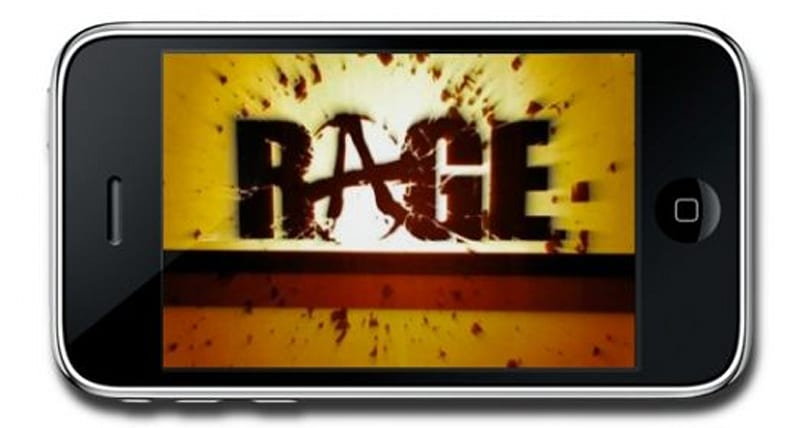 Rage demo'd at 60 fps on iPhone, id games on sale