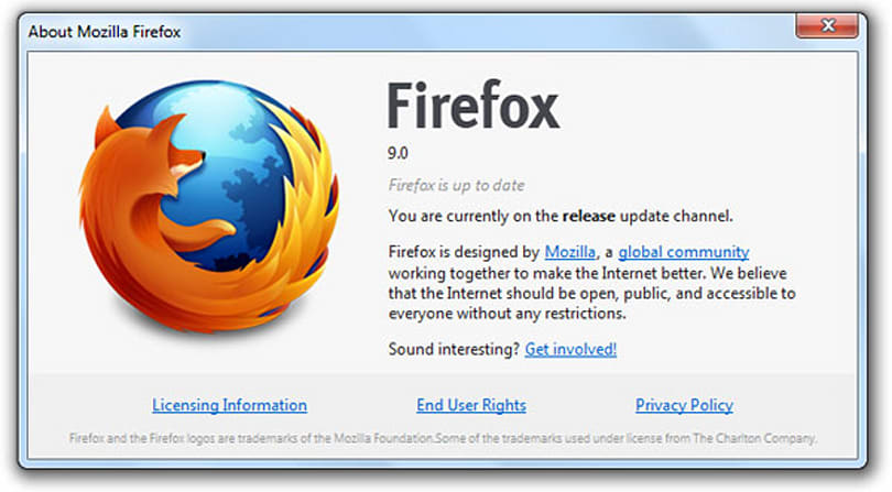 Firefox 9 now available, boasts speedier JavaScript handling, Lion optimizations