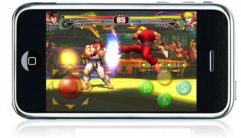 iPhone Street Fighter IV has eight characters, will cost $10