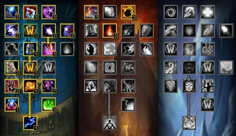 Cataclysm Beta: Mage talents and specializations