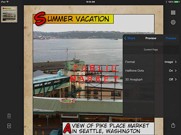Halftone 2 adds video and sound to an already great app