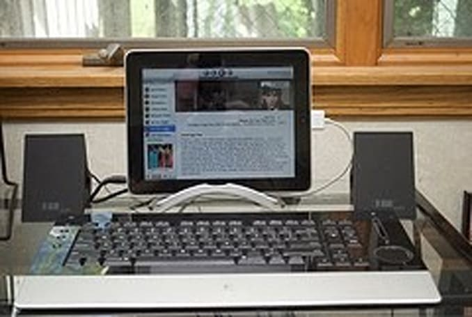 My iPad workstation, your iPad workstation