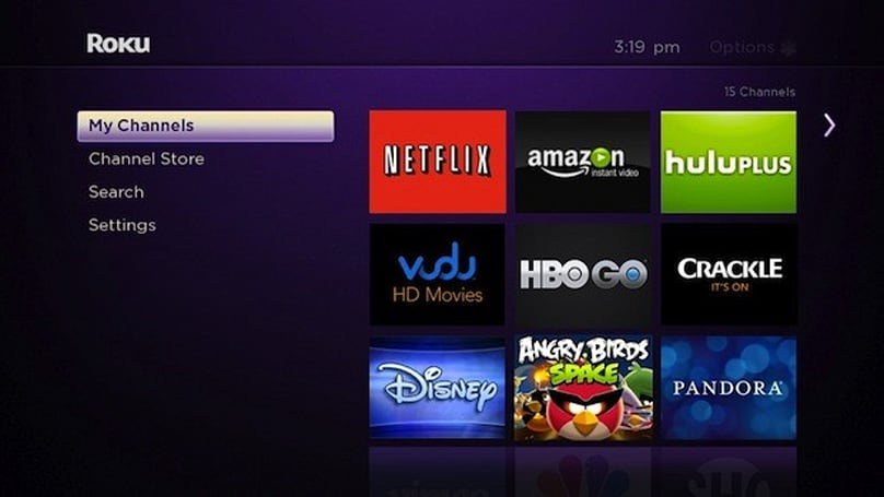 Roku's second gen players can get their grid menu update now