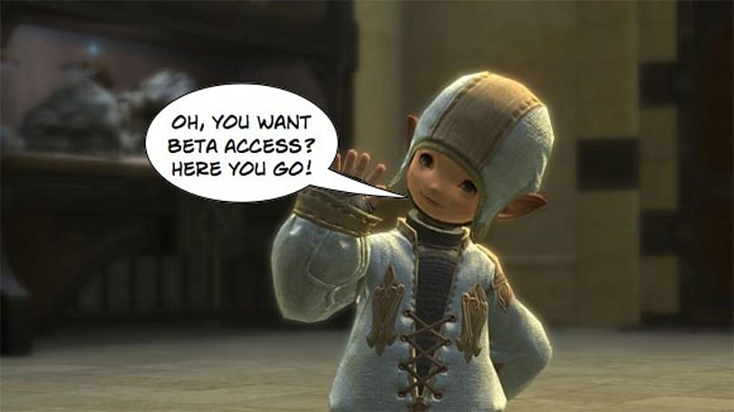 Final Fantasy XIV closed beta goes live March 11