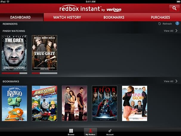 Redbox Instant beta invites slowly start rolling out, iOS and Android apps appear