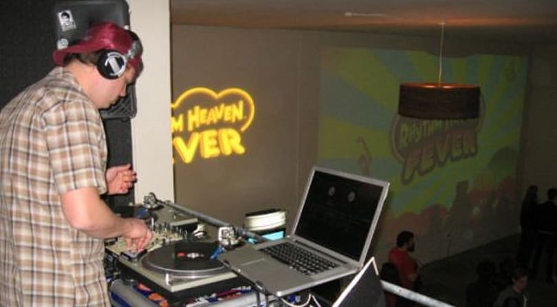 Nintendo launches Rhythm Heaven Fever with a party at iam8bit