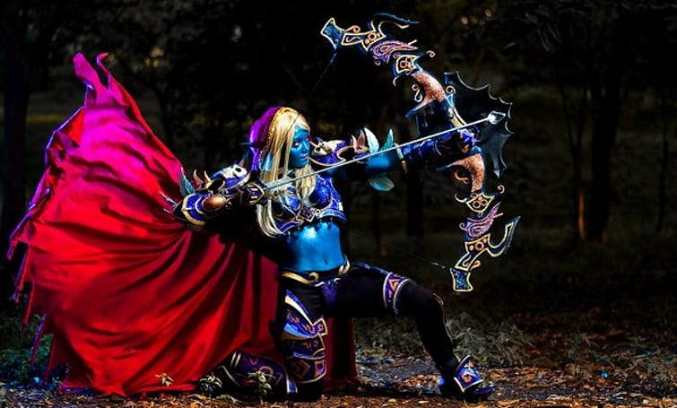 Blizzard features Sylvanas Windrunner cosplay