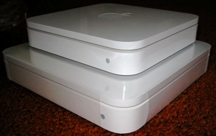 Time Capsule vs. Airport Extreme