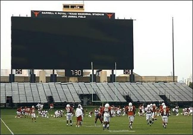 """Godzillatron"" goes live at Texas' Royal-Memorial Stadium"