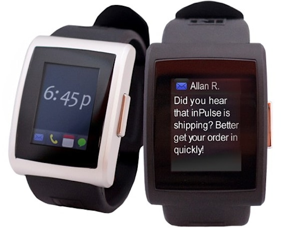 New InPulse Smartwatch puts apps on your wrist, on sale now for $150