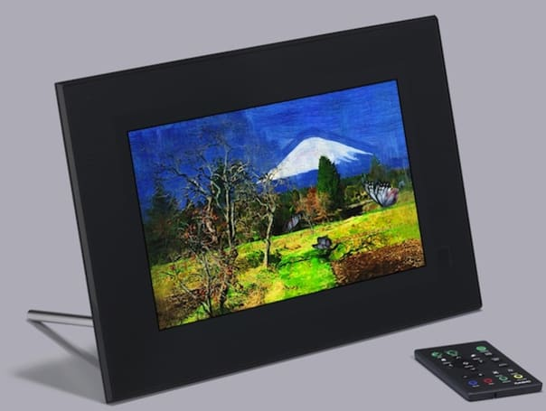 Casio's Digital Art Frame will help you get creative