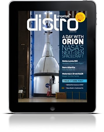 Engadget Distro Issue 12 -- Now with more exclusive content!