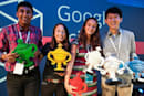 Flu-fighting teenager takes home top prize at Google Science Fair 2013