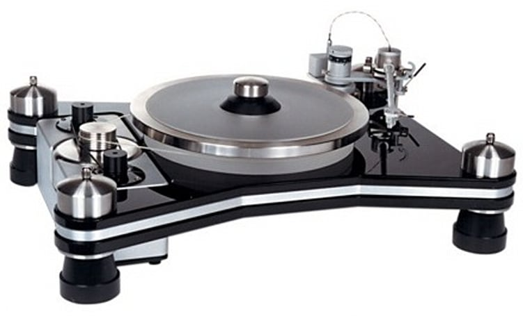 TEAC's $19,000 VPI HR-X1 turntable weighs more than your wife