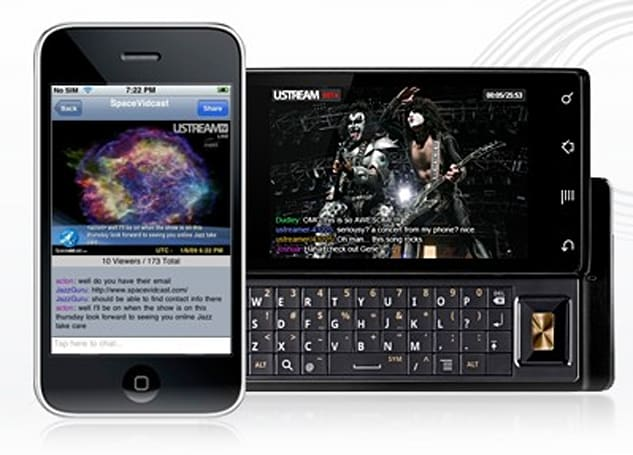 iPhones rejoice as Ustream Live Broadcaster hits App Store, other smartphones wonder what all the ruckus is