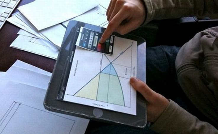 Low-tech testing on a high-tech iPad
