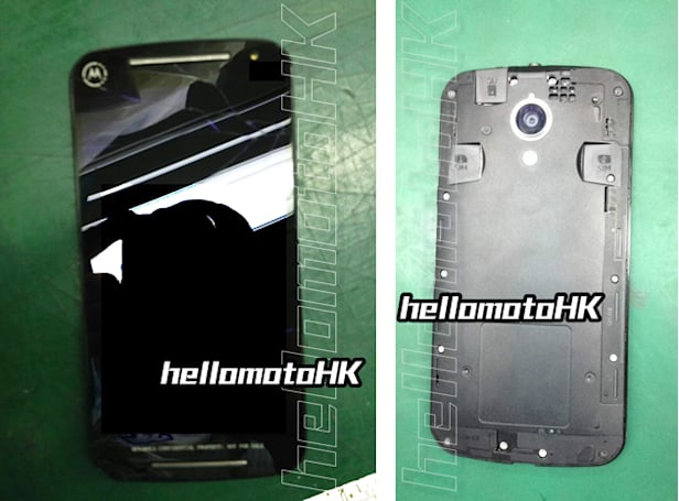 Motorola's next Moto G smartphone poses for photos