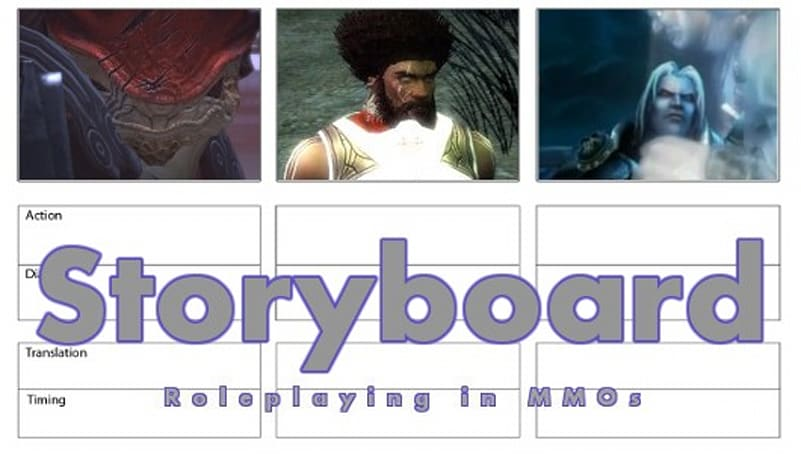 Storyboard: Over, done, finished, finito