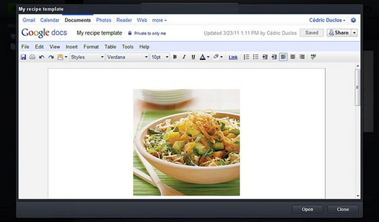 Google Docs now on Jolicloud Desktop, Joli OS