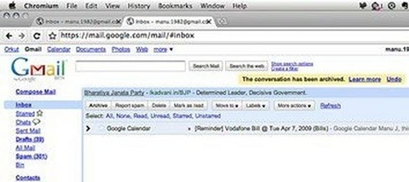 Google Chrome run natively (most of it, anyway)