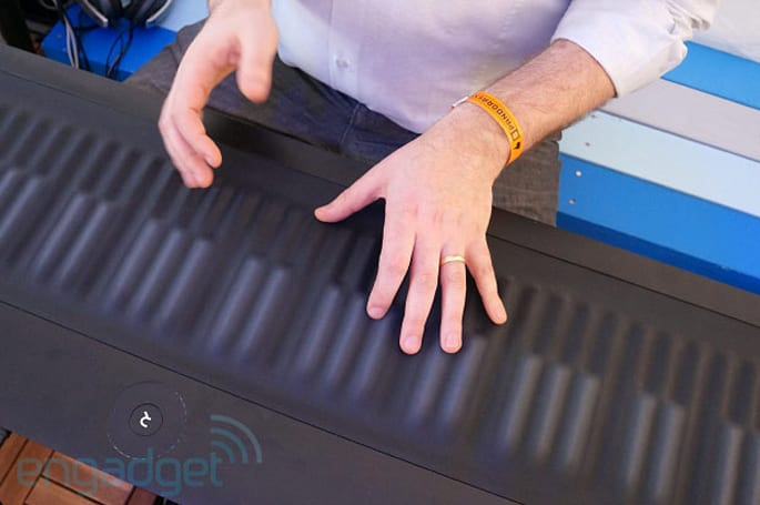 Roli Seaboard Grand up for pre-order, bendable music starts at $2,000