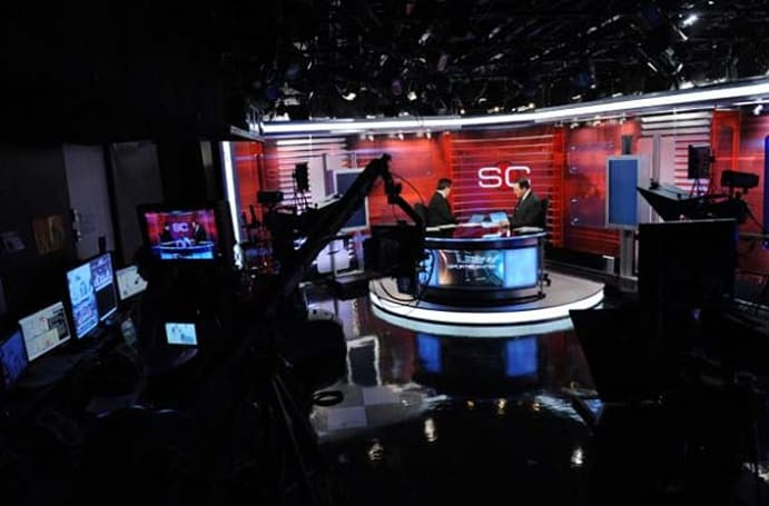 ESPN Front Row blog shows behind the scenes at the sports giant