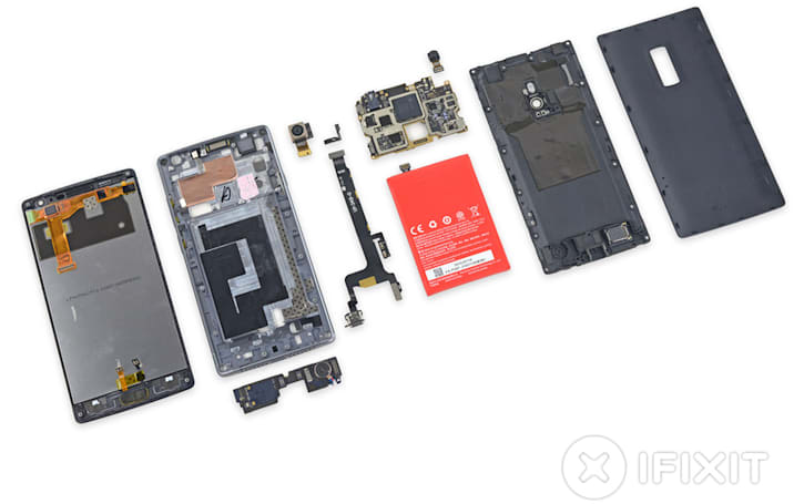 OnePlus 2 teardown reveals easy-to-replace modular components