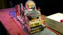 Turing machine built from wood, scrap metal and magnets, 'geek' achievement unlocked (video)