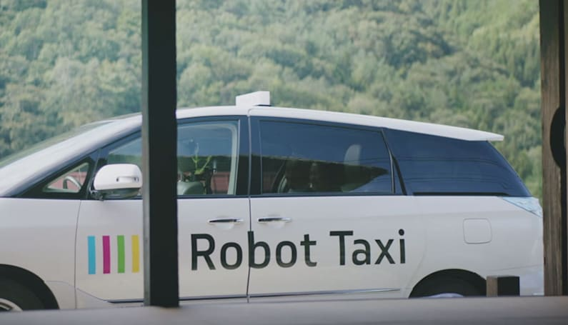Self-driving taxis will begin trials in Japan next year