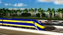 California starts building its high-speed train system