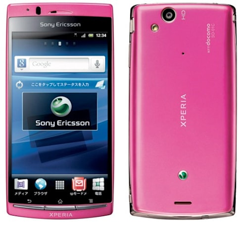 Sony Ericsson Xperia Arc turns pink in Japan for March 24th launch