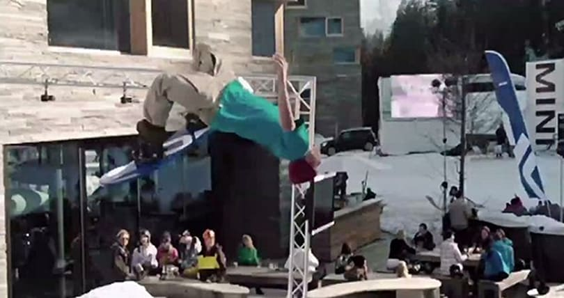 Nokia goes bullet time on snowboarders, the '90s wants its culture back (video)