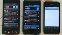 LG LU3000 quietly shows up, bests Galaxy S in YouTube test