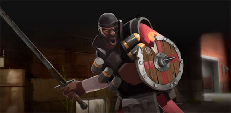 Team Fortress 2 update gives Demoman 'Close Combat Kit'